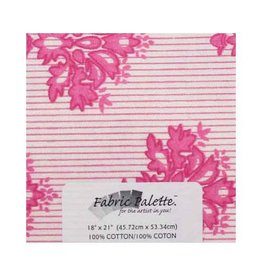 "Hakidd Fat Quarter Pre-Cut Fabric - Pink &  brown Collection 3 - 45 x 53cm (18"" x 21"")"
