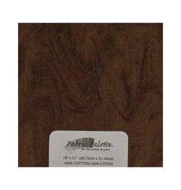 """Hakidd Fat Quarter Pre-Cut Fabric - Textured II Coffee - 45 x 53cm (18"""" x 21"""")"""