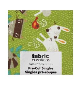 "Hakidd Fat Quarter Pre-Cut Fabric - Wild Woods Collection 6- 45 x 53cm (18"" x 21"")"
