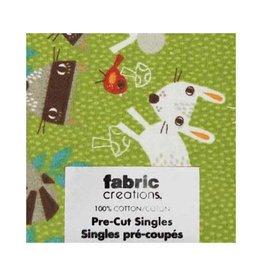 "Hakidd Fat Quarter Pre-Cut Fabric - Wild Woods Collection 6- 45 x 53cm (18"" x 21"")"