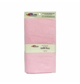 """Hakidd Flannel Solids Fabric - Baby Pink - 1.8 x 1m (2yds x 42"""")"""