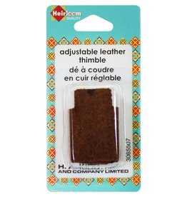 Hakidd Adjustable Leather Thimble