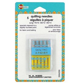 Hakidd HEIRLOOM Machine Quilting Needles - Assorted Sizes