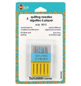 Hakidd HEIRLOOM Machine Quilting Needles - Size 80/12