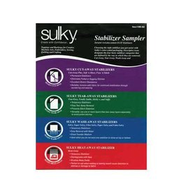 "Sulky SULKY Stabilizer Sample Pack - 1 - 8"" x 10"" sheet of all 19 types"
