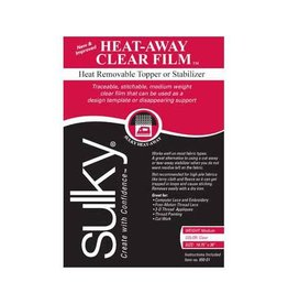 "Sulky SULKY Heat-Away - Clear - 50 x 91cm pkg (20"" x 36"")"