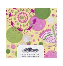 """Hakidd 1/2 Yard Large Pre-Cut Fabric - Flutterby Collection 2 - 45cm x 1m (18"""" x 42"""")"""