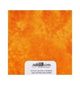 "Hakidd 1/2 Yard Large Pre-Cut Fabric - Textured Orange - 45cm x 1m (18"" x 42"")"
