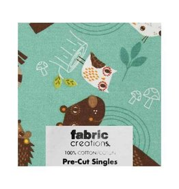 """Hakidd 1/2 Yard Large Pre-Cut Fabric - Wild Woods Collection 2 - 45cm x 1m (18"""" x 42"""")"""