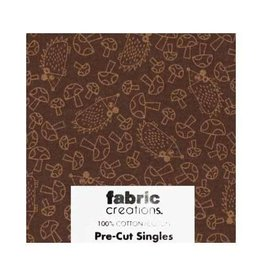 """Hakidd 1/2 Yard Large Pre-Cut Fabric - Wild Woods Collection 1 - 45cm x 1m (18"""" x 42"""")"""