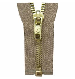 "Hakidd COSTUMAKERS Outerwear One Way Separating Zipper60cm 24""Light Beige 1754"