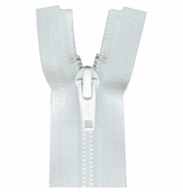 """Hakidd COSTUMAKERS Activewear One Way Separating Zipper 30cm 12""""White 1760"""