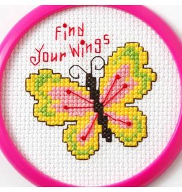 Bucilla Bucilla  My 1st Stitchâ - Counted Cross Stitch Kits - Mini - Find Your Wings