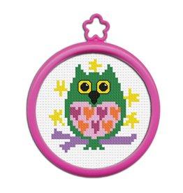 Bucilla Bucilla  My 1st Stitchâ - Counted Cross Stitch Kits - Mini - Owl