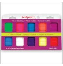 Sculpey Sculpey III Multipack,  lights