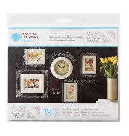 Martha Stewart Martha Stewart Crafts  Laser-Cut Stencils - Calligraphic Corners