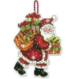 Dimensions Santa With Bag Ornament