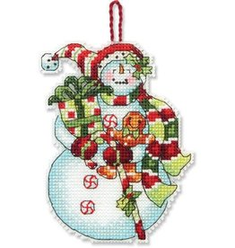 Dimensions Snowman With Sweets Ornament