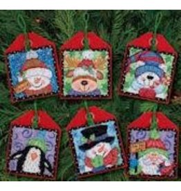 Dimensions Christmas Pals ornaments (6)
