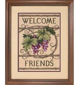 Dimensions Welcome Friends Cross Stitch