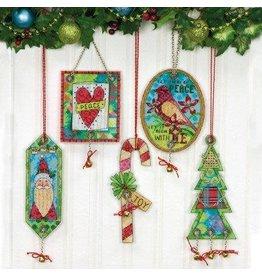 Dimensions Jingle Bell Ornaments Cross Stitch
