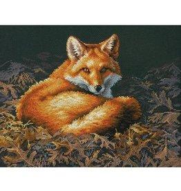 Dimensions Sunlit Fox Cross Stitch