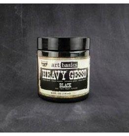 Gesso Art Basics, Heavy Gesso - Black (8.5 Fl. Oz)
