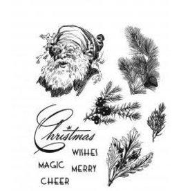 Treasuremart Cling Stamp, Christmas Classic