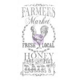 "Treasuremart Decor Transfers, Farmers Market 18X36"""