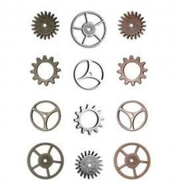Treasuremart Findings, Sprocket Gears 12/Pk Tim Holtz ( Large)