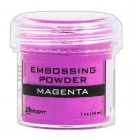 Treasuremart Emboss Powder, Opaque Magenta