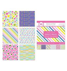 """MultiCraft 6""""x6"""" perfect Prints Stack Packs x30 Asst - 35) Carnival"""