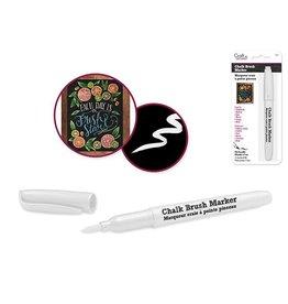 MultiCraft Chalk-It-Up  brush Marker - white