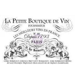 "Treasuremart Decor Transfer Petit Vin Wide 36.25"" x 25.25"""