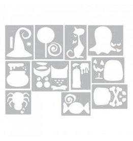 Tim Holtz Thinlits Die Set, Mini Halloween Things 11Pk