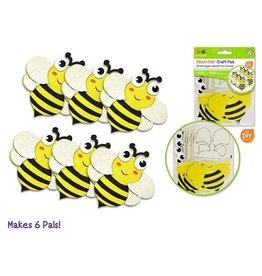 MultiCraft DIY Foam Pal Kits Kit Makes 6 Bee's Knees