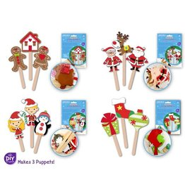 MultiCraft Seasonal Wonders: DIY Foam Character Stick Puppets