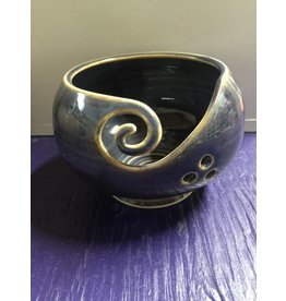 Kathy's Fiber Arts & Crafts Ltd Yarn Bowl Purple Small