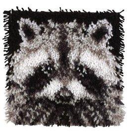 "Wonderart Wonderart Latch Hook Kit 12""x 12"" Raccoon"