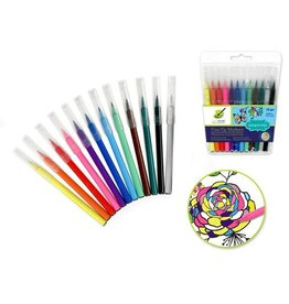 Color Factory Color Factory Tool: Fine Point Markers x12 'Living In Color' 0.2mm