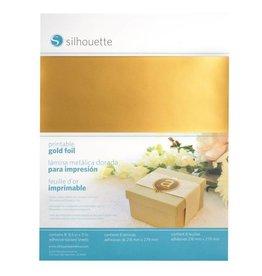 Silhouette Sticker Paper - Gold Foil