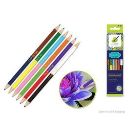 MultiCraft Color Factory Tool: Color Pencils x6 'Living In Color' 3.0mm Double-Ended