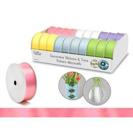 "Craft Decor Craft Decor Ribbons & Trims: 1"" x 3yd Rolls x20 Asst - B) Pastel"