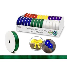 "Craft Decor Craft Decor Ribbons & Trims: 5/8"" x 4yd Rolls x28 Asst - A) Bold"