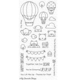 Treasuremart Clear Stamp, Up in the Air