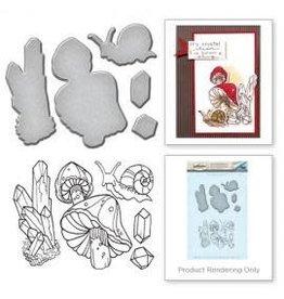 Treasuremart Stamp & Die Set, Snail