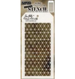 Tim Holtz Stencil, Diamonds