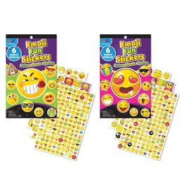 Krafty Kids Sticker-Fun Book Asst -Emoji Fun