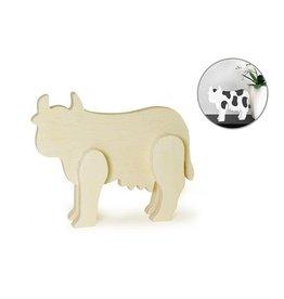 "MultiCraft 6"" x 1/2"" DIY Standing Animals - Cow"