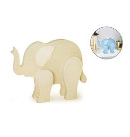 "MultiCraft 6"" x 1/2"" DIY Standing Animals - Elephant"